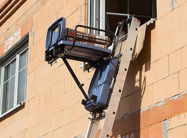 Létra Lift az építőiparban