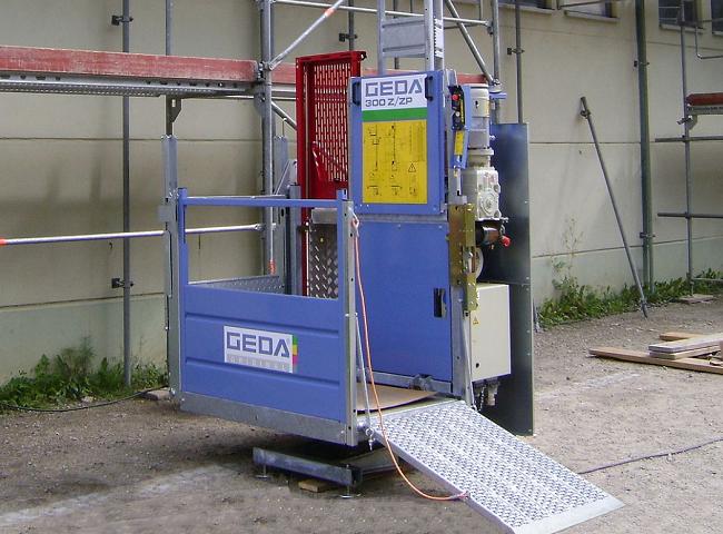 GEDA 300 Z/ZP felvonó