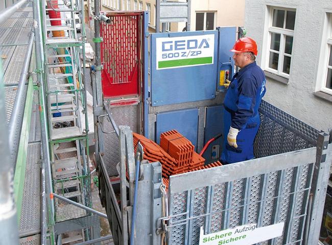 GEDA 500 Z/ZP felvonó