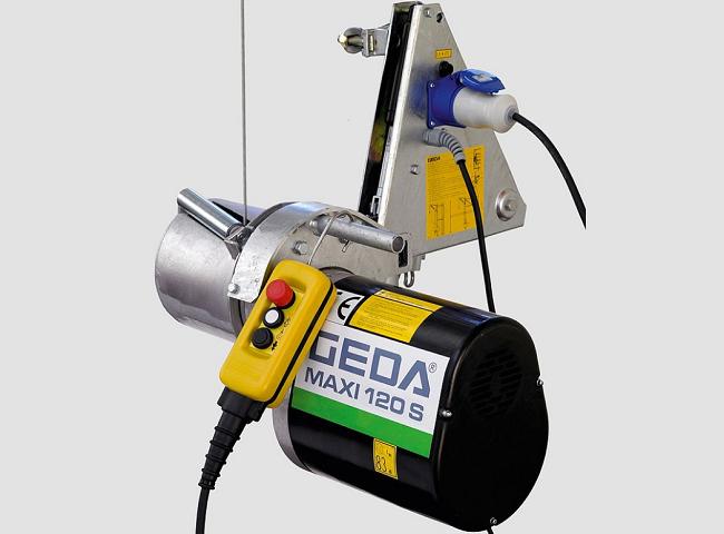 GEDA Maxi alsó motoros csörlő
