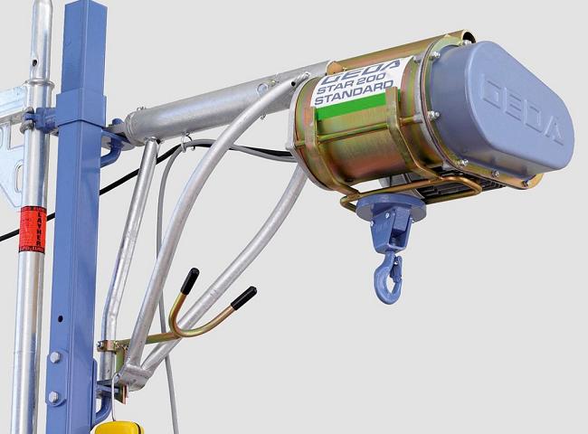 GEDA Star felső motoros csörlő