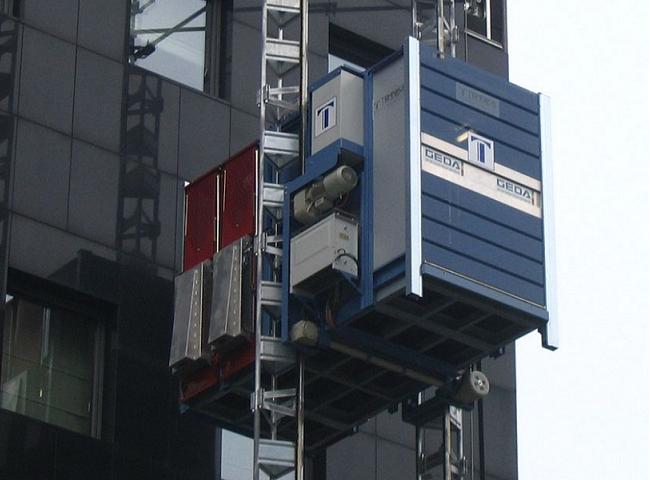 Multilift teher- és személyfelvonó